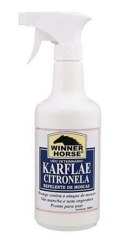 Imagem 1 de 1 de Karflae Citronela Repelente De Moscas Com Pulverizador - Win