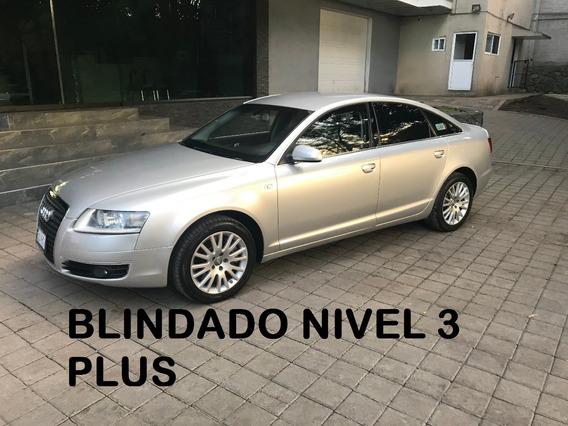 Audi A6 V8 Security 4.2 Blindado De Planta 2007 (impecable)
