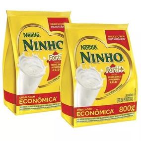 Leite Ninho Sache 800g Kit 5 Pacotes