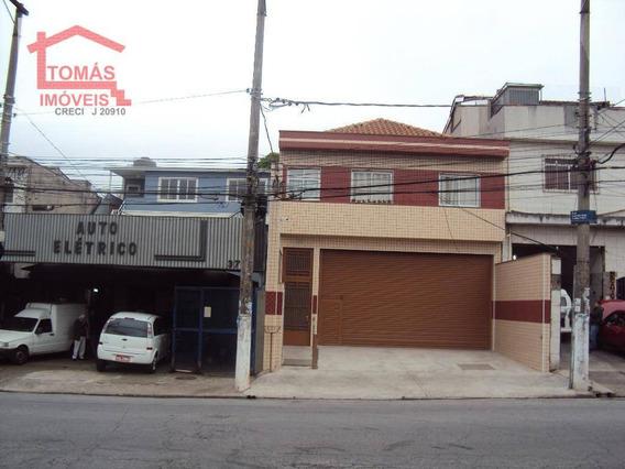 Casa Com 1 Dormitório Para Alugar, 45 M² Por R$ 1.100/mês - Vila Jaraguá - São Paulo/sp - Ca0823