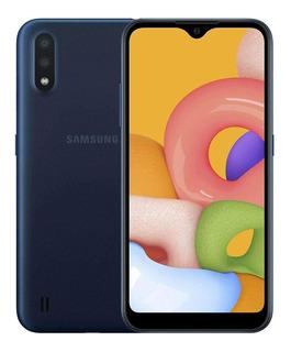 Celular Samsung Galaxy A01 Dual 5.7 32gb 2gb Ram Azul