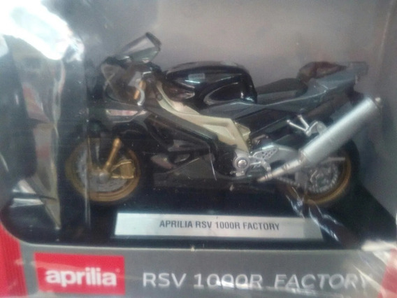 Colecc. Motos De Leyenda Aprilia Rsv 1000r. Esc. 1/18