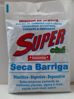 Super Chá Seca Barriga 6 Pacotes De 120g (envio Imediato)
