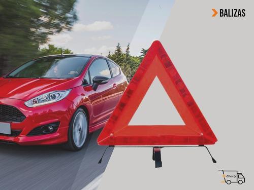 Baliza Triangulo Reglamentaria X Emergencia Ideal Auto/camio