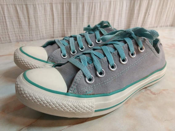 Zapatillas Converse Gris All Star 38 Unisex Excelentes