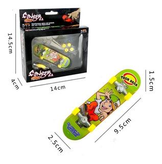 Set Patineta Fingerboard Cool Skate 96 Mm Tipo Tech Deck