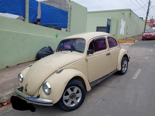 Fusca, Motor 1600 Dupla Carburação A Álcool, Ano 85.