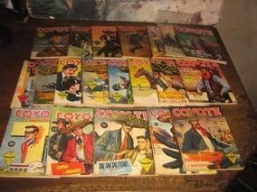 Coyote Lote C/ 20 Livros Ano 1961 Ed Monterrey Originais
