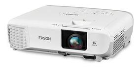 Projetor Epson Powerlite X39, Hdmi, 3500 Lumens, Branco