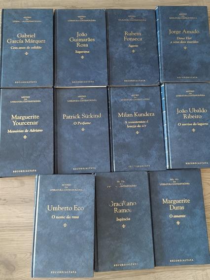 Livros Mestres Da Literatura Contemporânea - Coleção Com 11