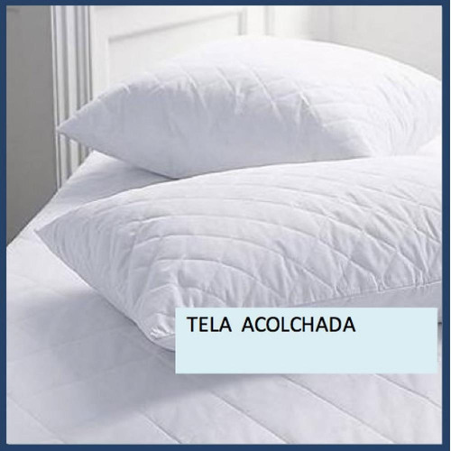 Protector Almohada Acolchado (50x75) Blanco