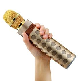Leitor / Alto-falante Sem Fio Alto-falante Microfone Karaoke