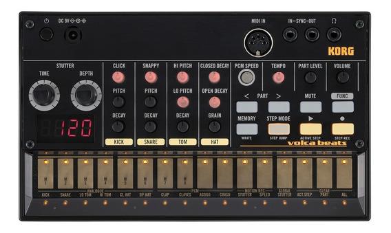 Korg Volca Beats - Analogue Rhythm Machine + Garantia 1 Ano