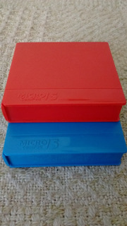 Cajas Porta Diskettes 3 1/2 Micro Compak