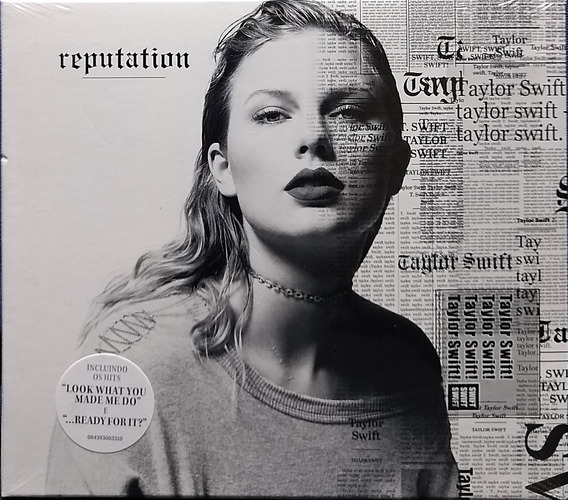 Cd Lacrado Taylor Swift - Reputation