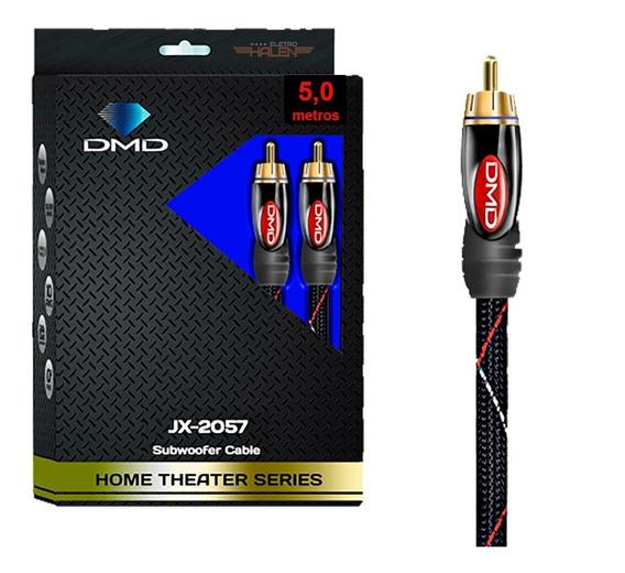 Cabo Rca Subwoofer Diamond Cable Dmd Jx 2057 Série Ht - 5m