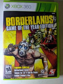 Juego Borderlands Xbox 360 Original (usado)