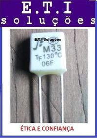 Fusivel M33 Tf130 130cº Pct C/ 3,já Incluso C/ Taxa De 5 Rea