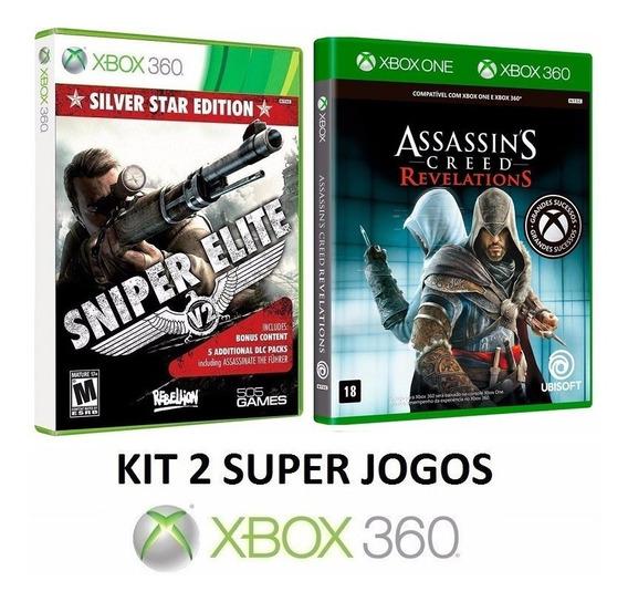 Sniper Elite V2 + Assassins Creed Revelations - Xbox 360