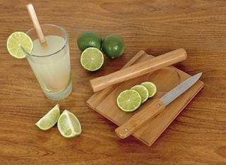 Kit Caipirinha 5pcs Mor Bamboo