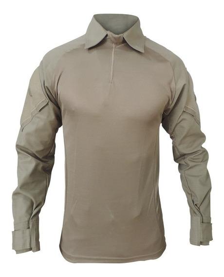 Camisa Tática Militar Combat Shirt Fox Boy Raglan Multicam