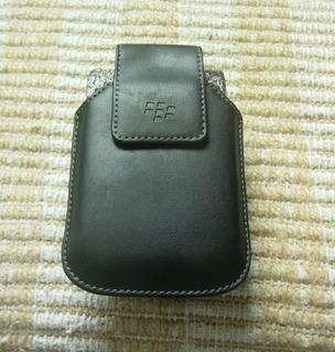 Estuche Original De Cuero C/clip Para Blackberry 9000/9500