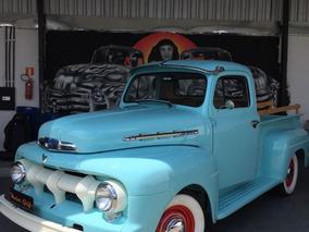 Ford F-1 F1 1951 Azul Gasolina