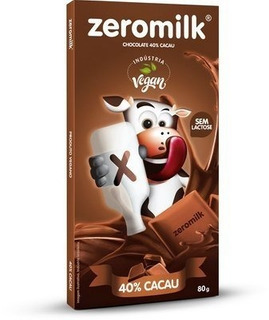 Chocolate Zeromilk Puro 80g Genevy