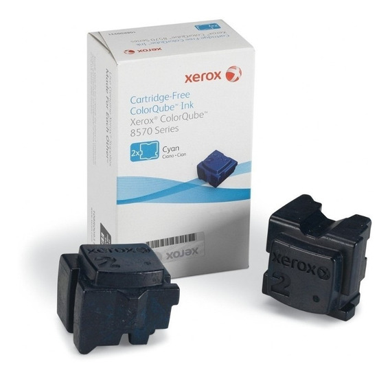 Kit Completo Cera Coloridas Com 2 Bastões Cada Xerox 8570 108r00936/37/38 C/y/m Original