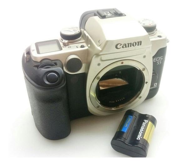 Camera Canon Eos 55 Eye Control Sem Lente E Carregador