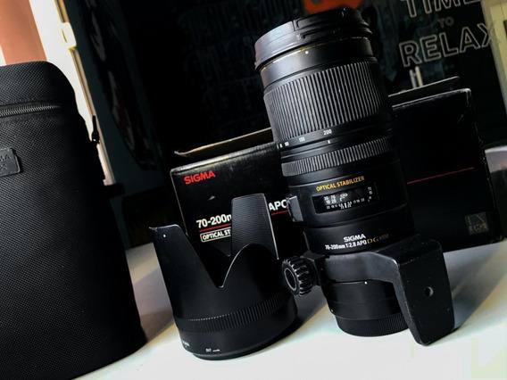 Sigma 70-200 F2.8 Apo Ex Dg Os Canon