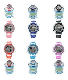 Reloj Digital Cronometro Alarma Luz Sumergible Od01-006