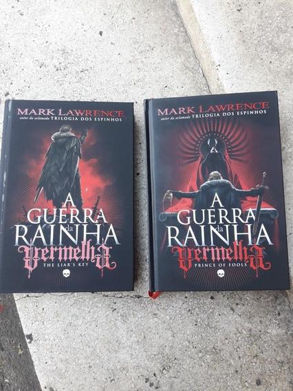 2 Livros A Guerra Da Rainha Vermelha