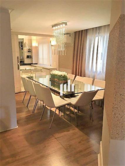 Apartamento Com 4 Dormitórios Para Alugar, 238 M² Por R$ 15.000,00 - Moema - São Paulo/sp - Ap11581