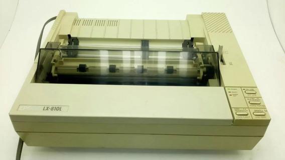 Impressora Matricial Epson Lx 810l Leia A Descrição