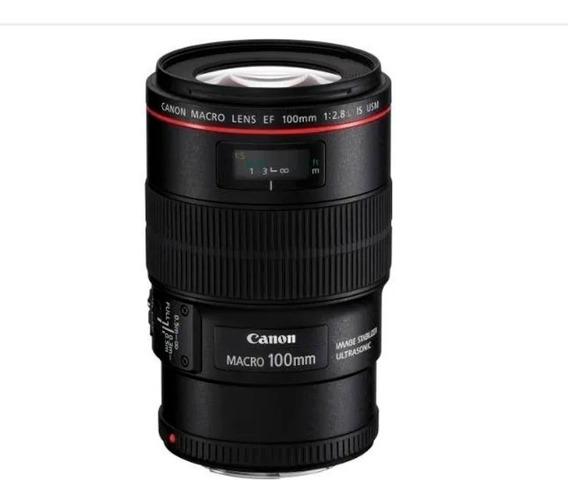 Lente Canon Ef 100mm F/2.8 Macro Is Usm