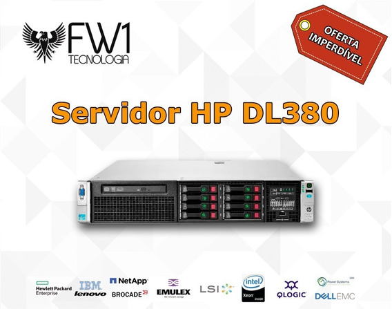 Servidor Hp Dl380 P G8 Ten 10 Cores 64gb Ram 2x Hd 600sas