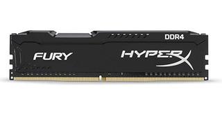 Memoria Ram Ddr4 4gb 2400mhz Hyperx Fury Black Hx426c15fb/4