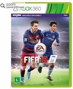 Jogo Fifa 16 Xbox 360