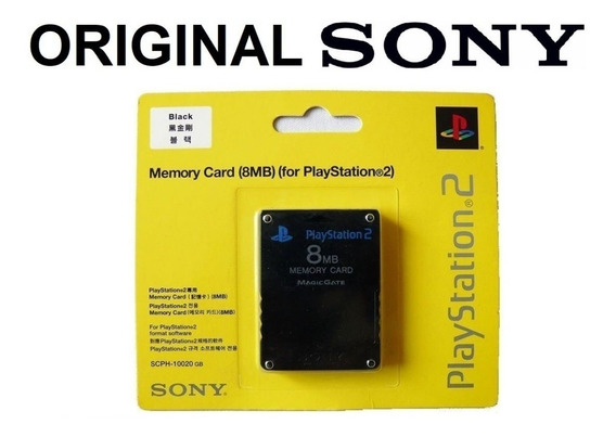 Memory Card Original Sony Playstation Ps2 Envio 12,00