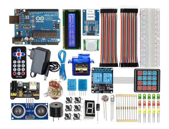 Kit Arduino Uno R3 Intermediário Automação