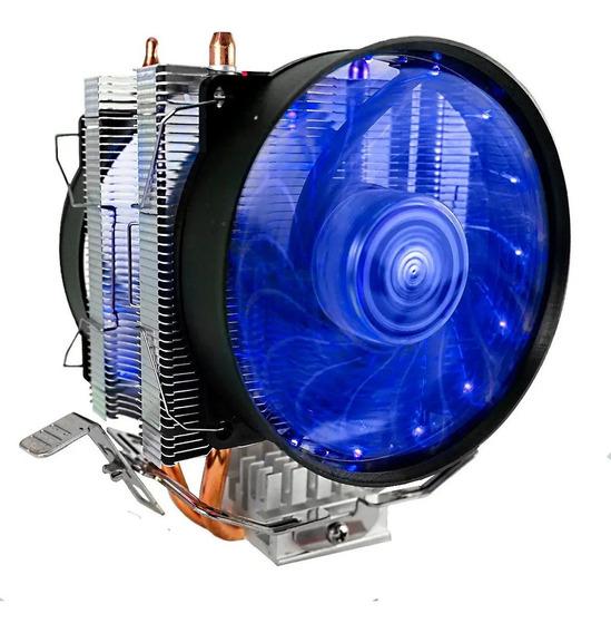 Cooler Duplo Cpu Dual Fan Pc Intel 775 1151 1155 Amd Am3 Am4