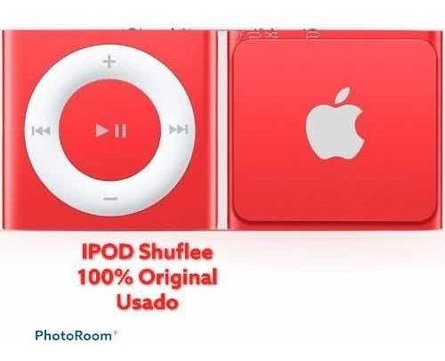 iPod Shuffle 100% Original Apple Usado Rojo Sin Cable