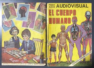 Album Figuritas El Cuerpo Humano Solo Tapas