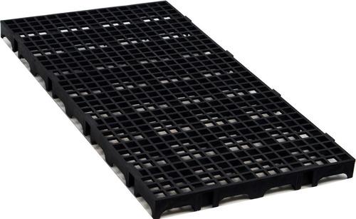 40 Pallets Piso Estrado Plástico 50x25  Câmara Fria Preto