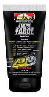 Imagem 1 de 1 de Limpa Farol - Proauto