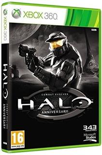 Juego Halo Aniversary Xbox360 Sin Manual En Español