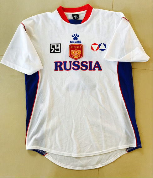 Camiseta De Rusia Marca Kelme De Futsal Urilizada En Juego
