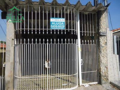 Casa Residencial Para Locação, Parque São Domingos, São Paulo. - Ca0545