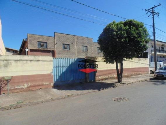 Salão Industrial Para Locação, 720 M² Por R$ 4.500/mês - Jardim São Francisco - Santa Bárbara D